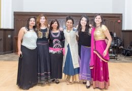International female dance group